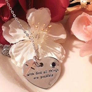 Jewelry - NEW S925  Inspirational Truth Pendant Necklace